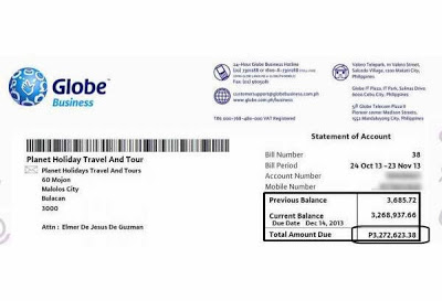 Globe Subscriber Gets P3 Million Bill Shock!