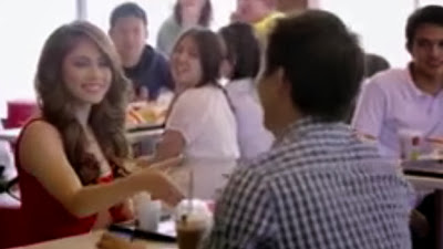 Jessy Mendiola Spices Up Guys Dining Experience at McDonald's
