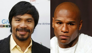Manny Pacquiao Flattered by Floyd Mayweather's Posts