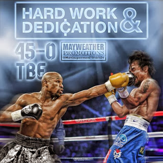 Floyd Mayweather Pokes Fun at Manny Pacquiao