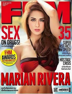 Marian Rivera FHM Thailand Cover Girl