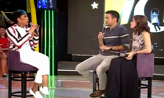 Gandang Gabi Vice (GGV) August 24, 2014 episode with Mateo Guidicelli, Sam Milby and Anne Curtis