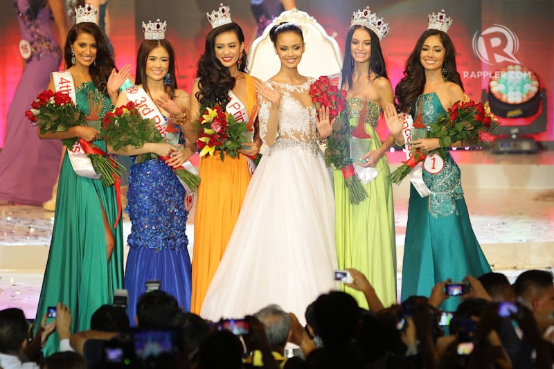 Valerie Weigmann Wins Miss World Philippines 2014 Title