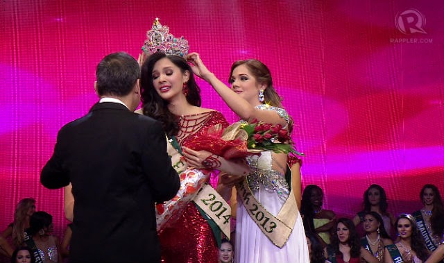 Miss Philippines Bags Miss Earth 2014 Crown