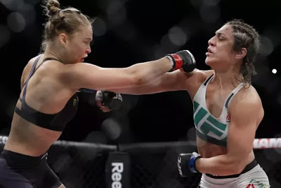 Ronda Rousey Beats Brazilian Fighter Bethe Correia