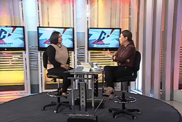 Watch Alma Moreno Awkward TV Interview