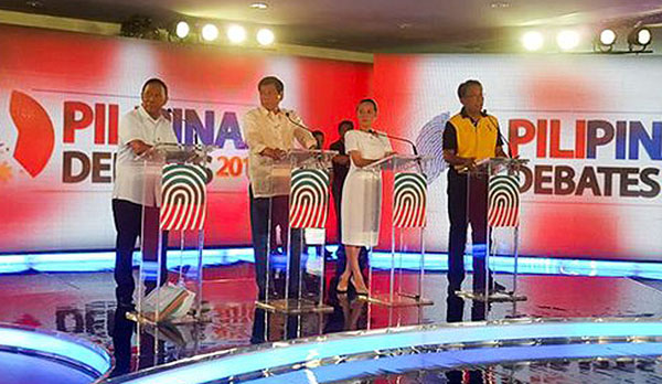 2nd Pilipinas Debates 2016 Full Replay
