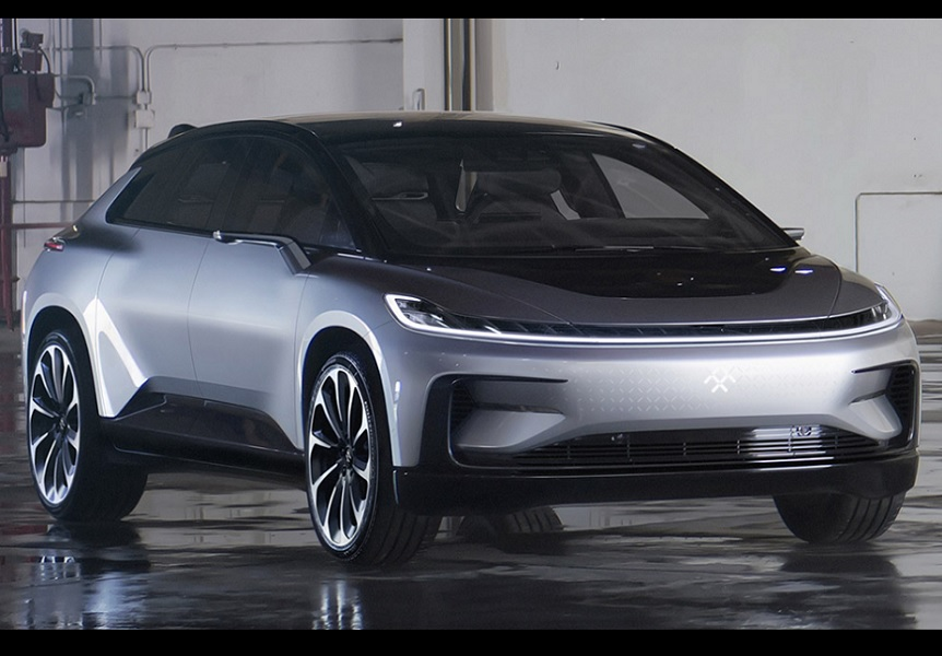 Faraday Future showcased their FF '91 at the CES 2017