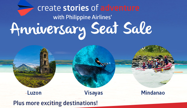 The Philippine Airlines 7th Anniversary Seat Sale for 2017 to 2018