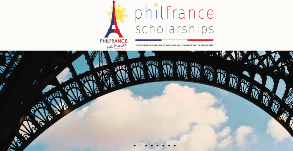 France Scholarship for Pilipinos
