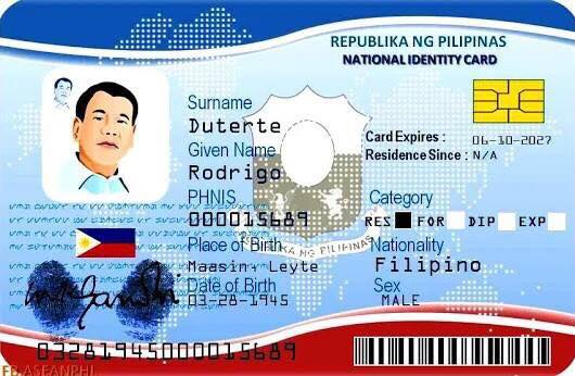 National ID, Approved By The Senate And Is Now On Final Reading