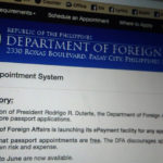 DFA Will Start To Impose No Appointment Without Upfront Payment