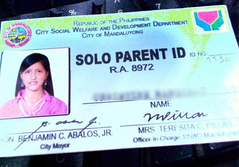 Solo-parent-ID Requirements
