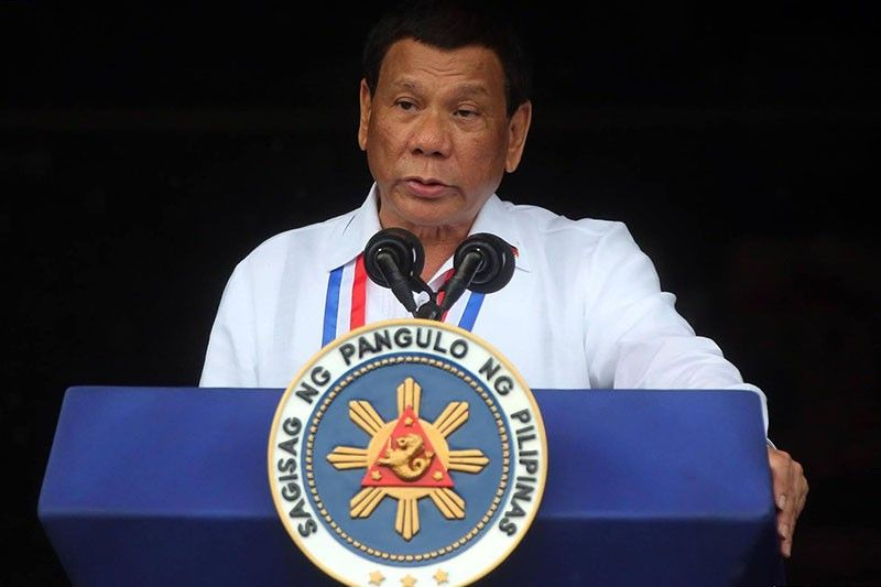 President Rodrigo Duterte Met with Independence Day Protest