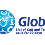 Updated List of Globe Call and Text Promos for 30 Days