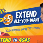 New TNT Extend Promo for Only 5 Pesos A Day Up To 365 Times