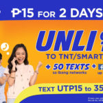 UTP15 – Talk 'N Text Unli Call and Text to TNT, Smart, Sun + 100 MB Data