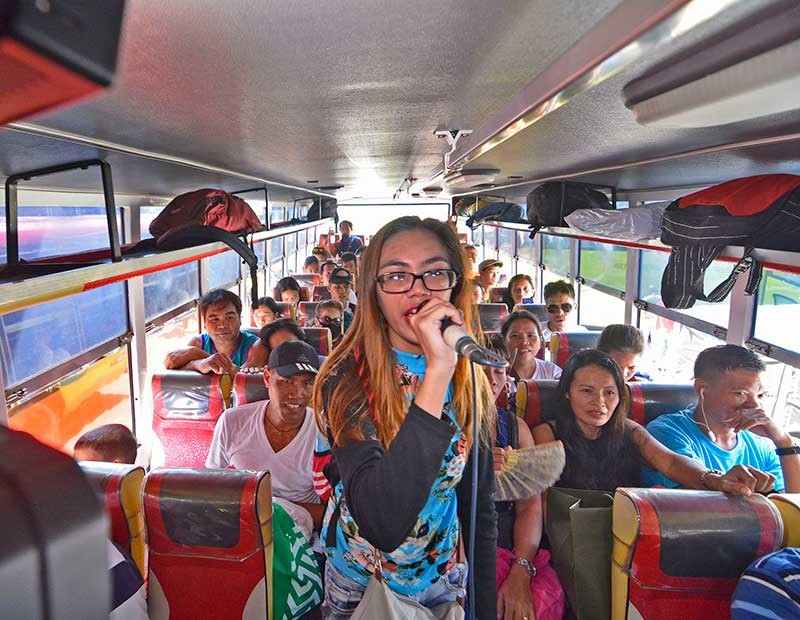 Karaoke Bus in Cebu Free Ride to Passengers