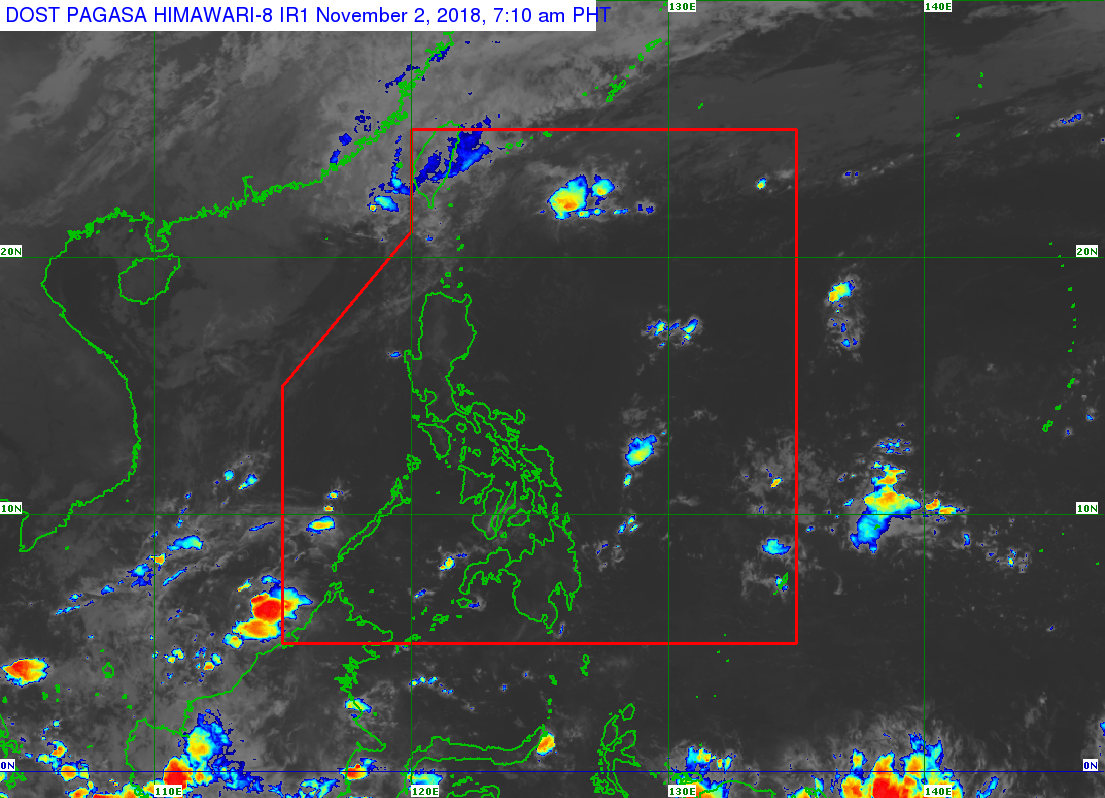 1 to 2 storms this November, says PAGASA