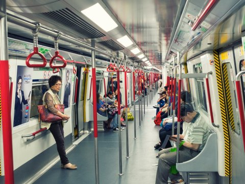 Hong Kong MTR; where the Makati City government got the idea of the Makati Subway