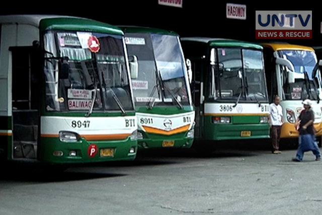 Provicial Bus in EDSA not allowed