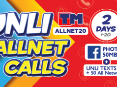 TM Combo Promos - Touch Mobile Call, Text, and Data Promo