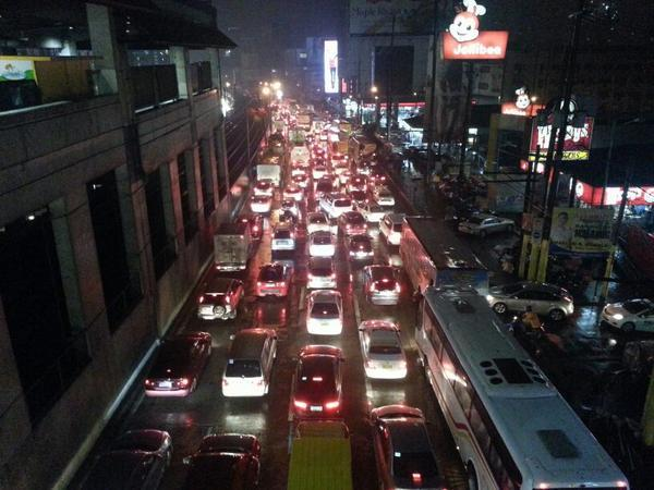 Road Close during Holy week holiday