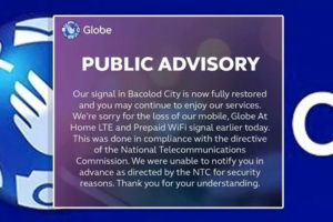 Globe Customers to Experience Data Interruptions due to System Issues