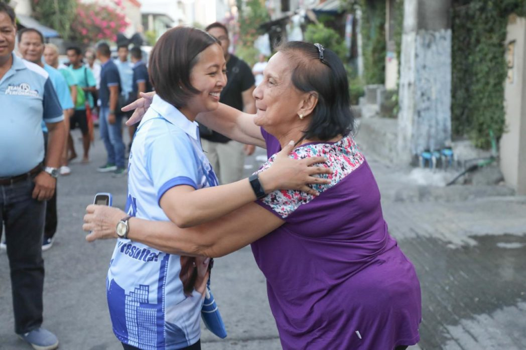 Abby Binay campaigns