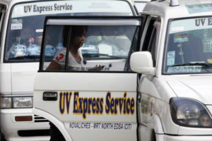 UV Express P2P Policy, Halted by the LTFRB