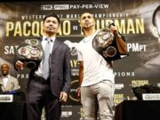 Watch the Pacquiao VS Thurman livestream on Sunday!