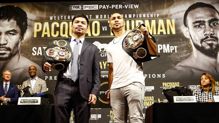 Watch the Pacquiao VS. Thurman livestream on Sunday!
