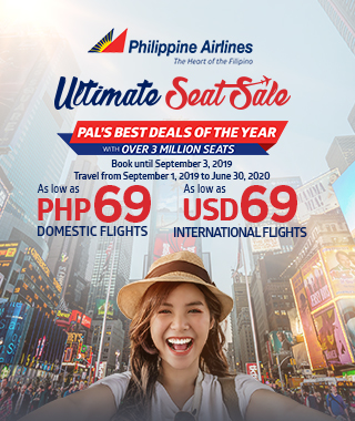 PAL's ultimate seat sale promo extended