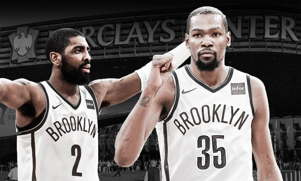 Kevin Durant With Kyrie Irving For the Brooklyn Nets