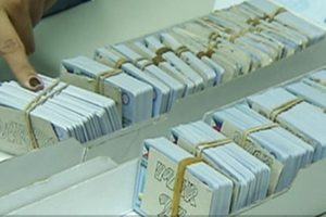 Approximately 50,000 driver's licenses, unclaimed at the MTPB Office