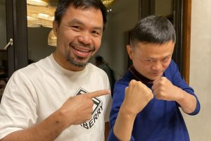 Senator Manny Pacquiao and Jack Ma to Establish