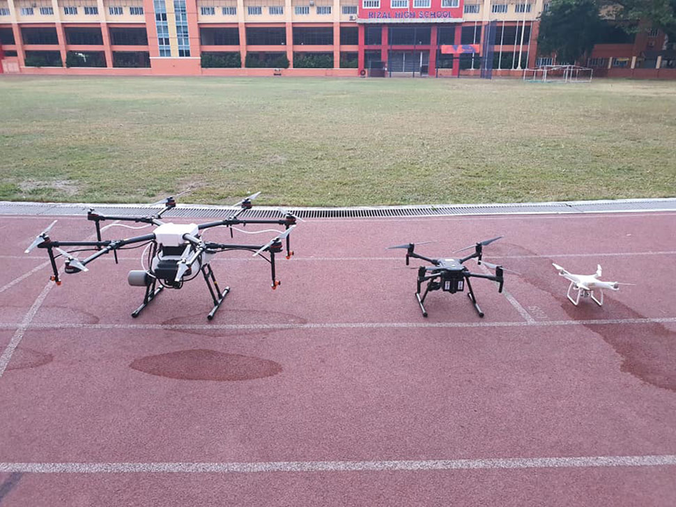 Drones to Disinfect Pasig City