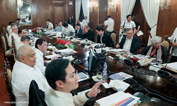 75 percent of their salaries, to be given to the gov't