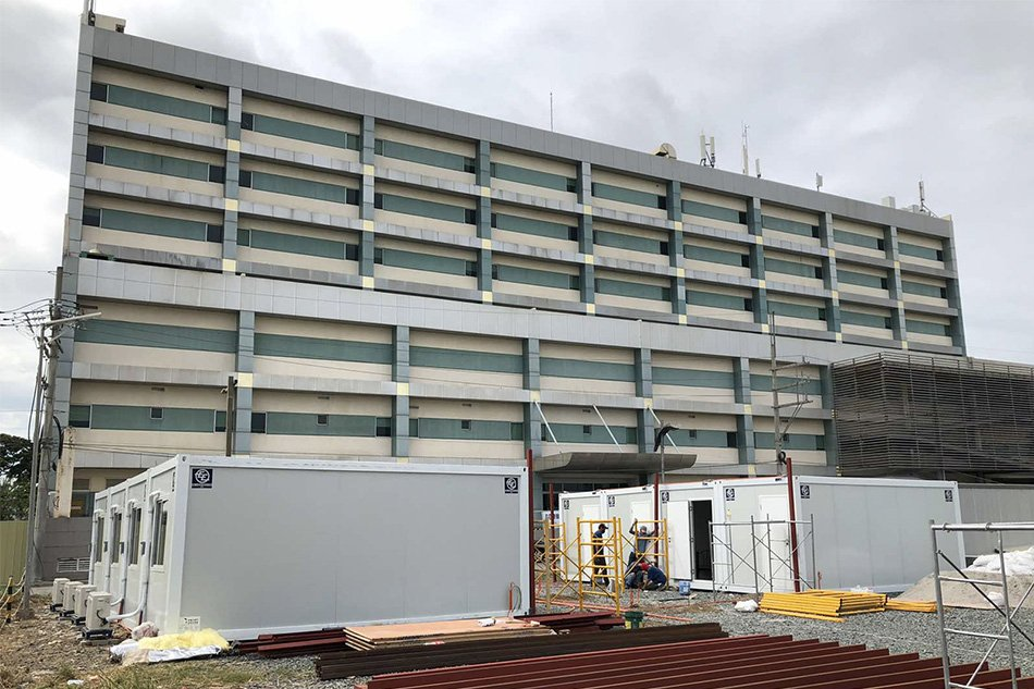 First COVID-19 Hospital and Treatment Facility in the Philippines