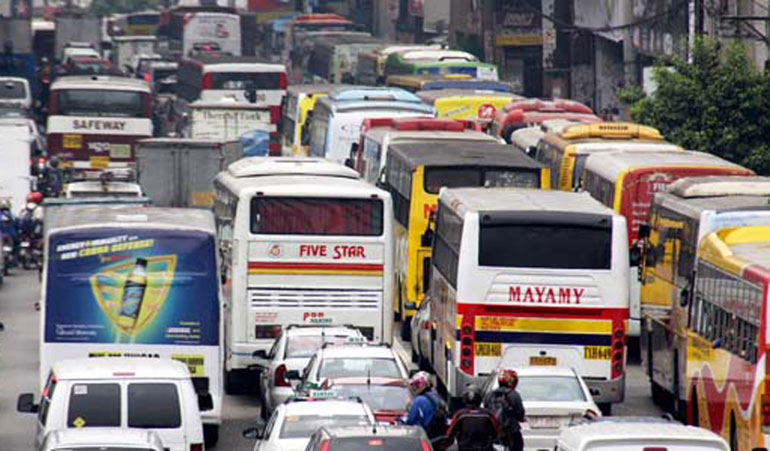 16 Bus Stops on EDSA