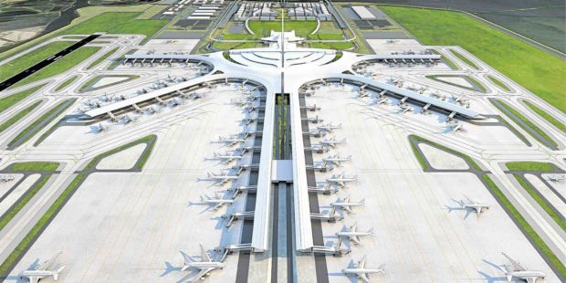 New Manila International Airport, Done by October